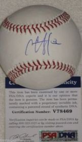 C.C. Sabathia Signed New York Yankees Official Major League Baseball PSA/DNA.