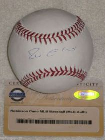 Rob Cano Signed Seattle Mariners Official Major League Baseball.