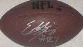 Eddie Lacy Signed Auto Green Bay Packers Wilson NFL Football GTSM Hologram