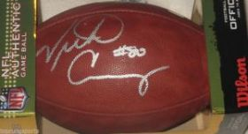 Victor Cruz Signed New York Giants NFL Duke Football Steiner Sports coa