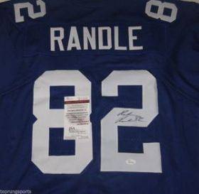 Reuben Randle Signed New York Giants Custom Jersey Size XL JSA Spence COA