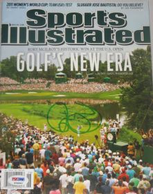 Rory Mcilroy Signed Sports Illustrated Magazine 6-27-11 PGA 2011 US Open PSA/DNA