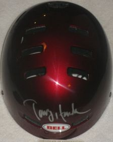 Tony Hawk Autographed Authentic Bell Helmet Steiner Sports