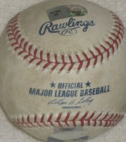New York Mets vs Cardinals Game Used Baseball 06-26-07 Steiner Sports