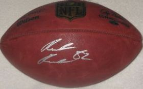 Rueben Randle Signed New York Giants NFL Duke Football Steiner Sports coa