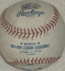 New York Mets vs Phillies Game Used Baseball 09-16-07 Steiner Sports
