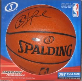 Chris Paul Signed Los Angeles Clippers Spalding I/O NBA Basketball Steiner Sports