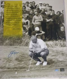 Jack Nicklaus Signed 16x20 Focus Photo Steiner Sports Golden Bear Hologram