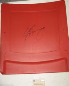 Eli Manning Autographed NY Giants Meadowlands Stadium Seatback Steiner Sports coa