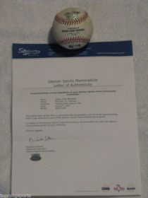 NY Yankees @ Boston Red Sox 6-2-07 Game Used Baseball Steiner Sports