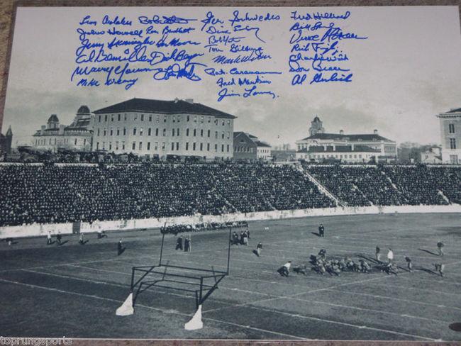 1959 Syracuse University Team Signed Vintage 16x20 Photo ... | 650 x 488 jpeg 83kB