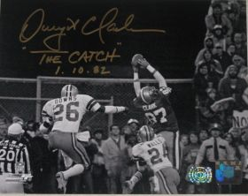 Dwight Clark Signed San Francisco 49ers 8x10 The Catch Photo Clark Hologram