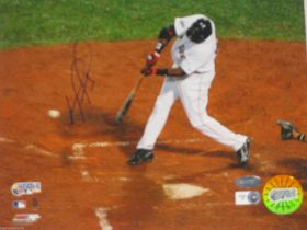 David Ortiz Signed Boston Red Sox 2007 World Series 8x10 Photo Steiner Sports