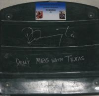 Pete Incaviglia Signed Texas Rangers Inscribed Seatback GTSM/Incaviglia coa